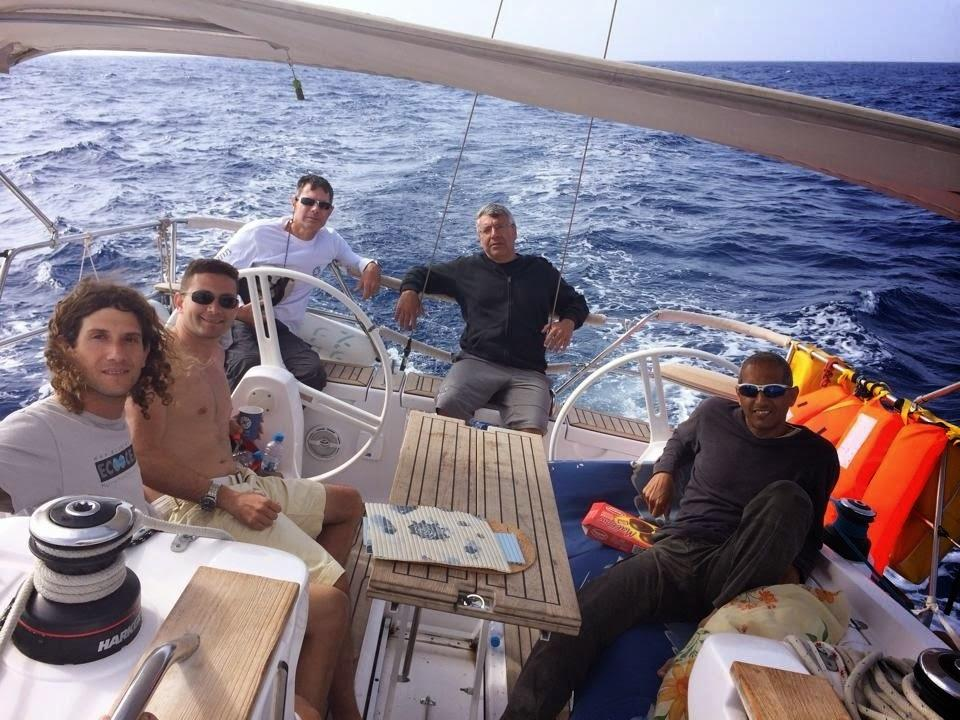 הפלגת לקפריסין - תמונה מהסיפון | דרך הים