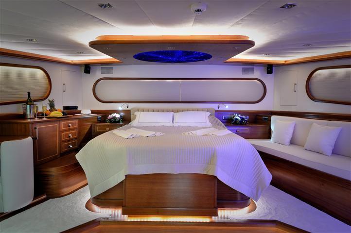 חדר השינה של ספינת הגולט