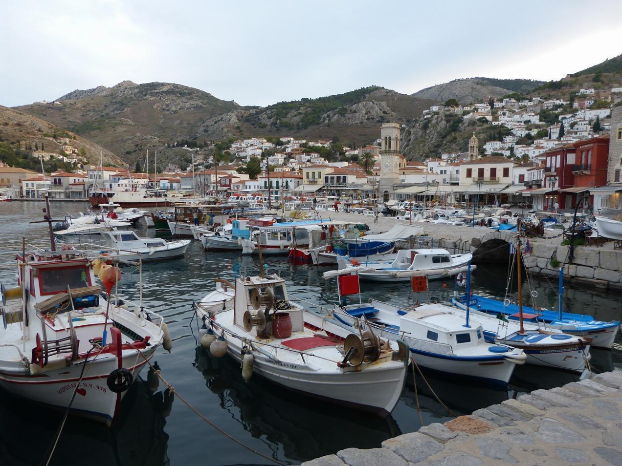 הפלגה ליוון -דרך הים