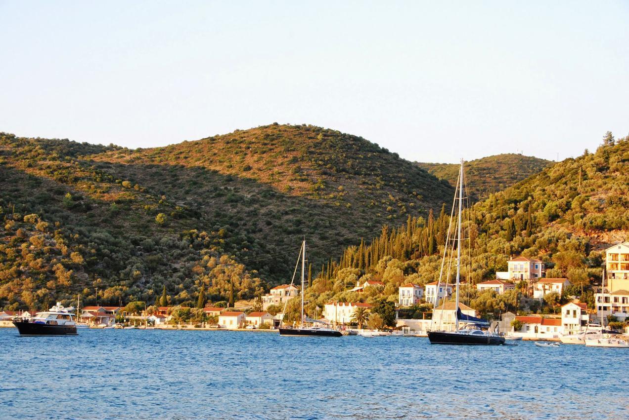 סירות בים היווני\
