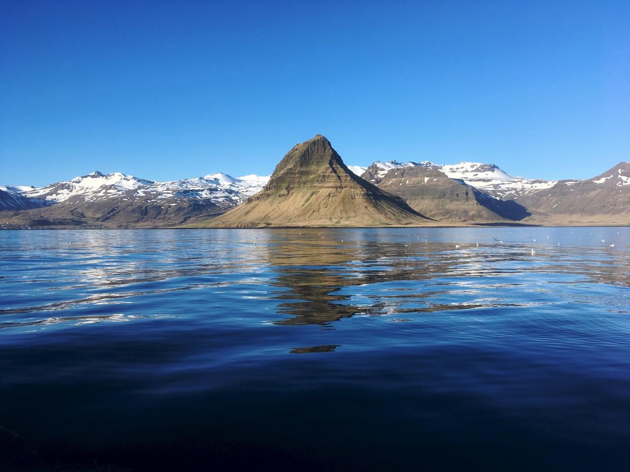 הרפתקת שייט באיסלנד - נוף - דרך הים