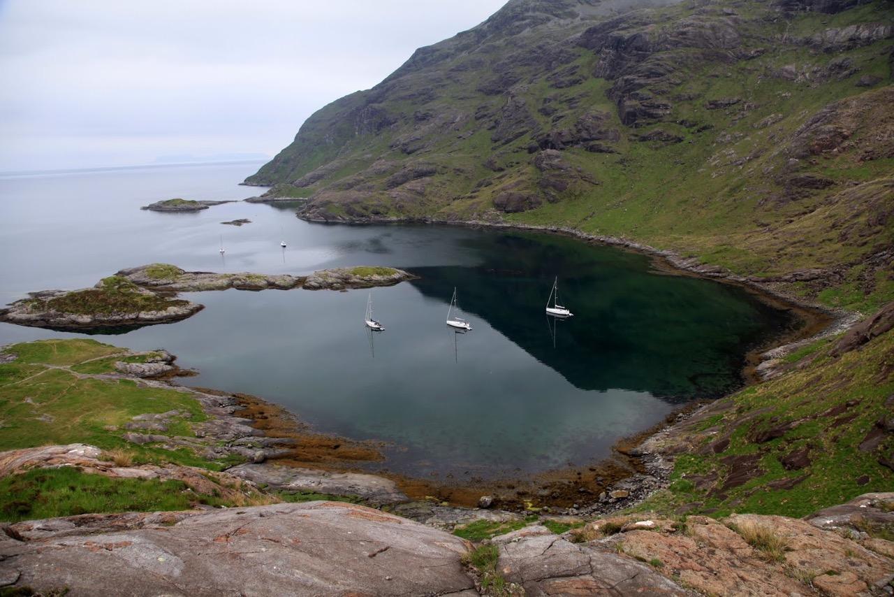 הרפתקת שייט בסקוטלנד - נוף עוצר נשימה - דרך הים