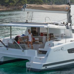 קטמרן Lucia 40 מודל 2019
