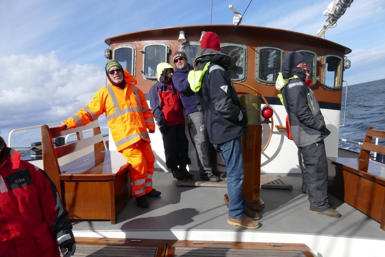 שטים ונהנים בים הצפוני