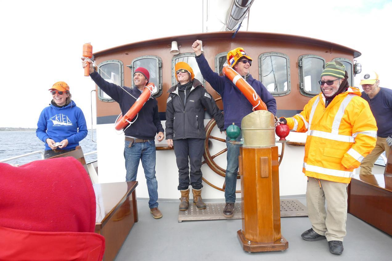 שייט טולשים לים הצפוני עם דרך הים - יוצאים לדרך עם חיוך