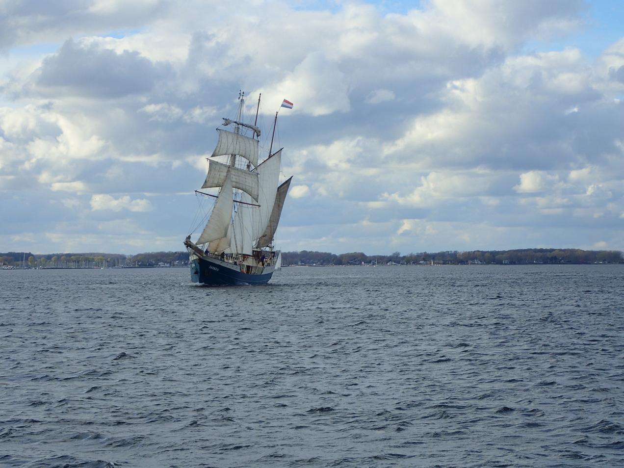 תמונה מלב הים בשייט בים הצפוני