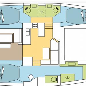 קטמרן Astrea 42 מודל 2020