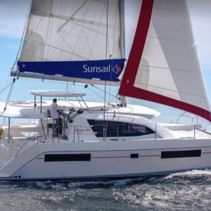 קטמרן Sunsail 404 מודל 2017