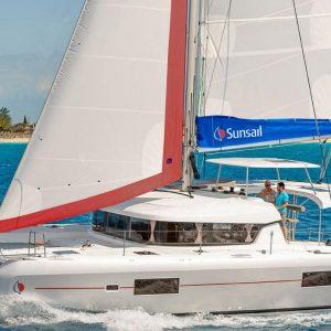 קטמרן Sunsail 424 מודל 2020