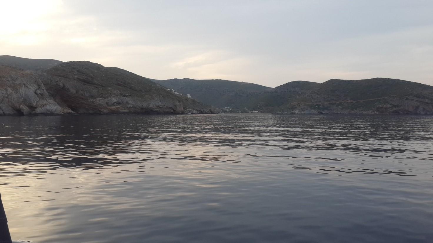 מפרץ Agios Stefanos, מפרץ קטן וקסום
