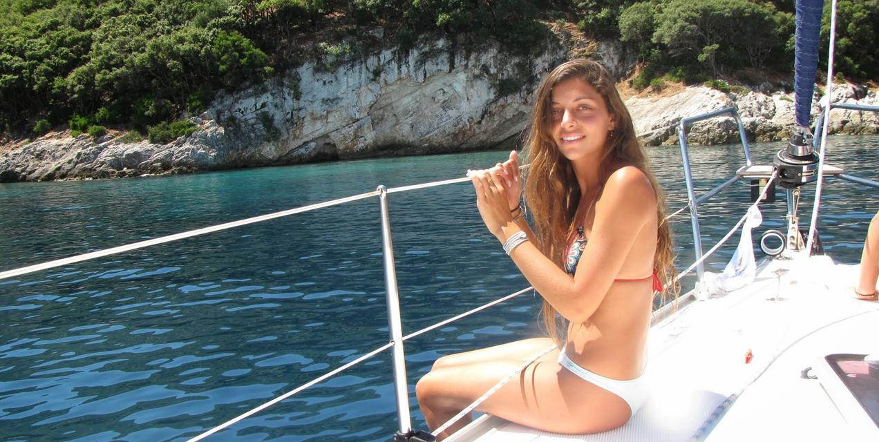 פלוטילת משפחות בים היווני - להשתזף על הסיפוון | דרך הים