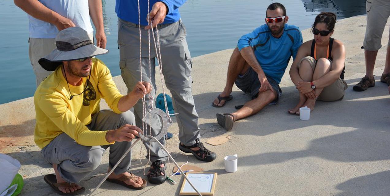 פלוטילת מתקדמים ביוון - הדרכות על הרציף | דרך הים