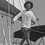 יוסי סוקולוב - מדריך במועדון השייט של דרך הים